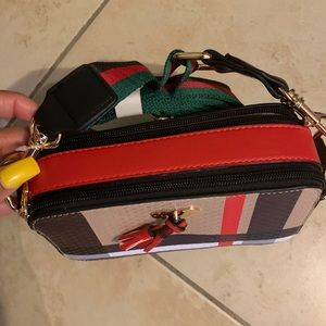 New red tassels cross Body bag SALE ENDS MIDNIGHT